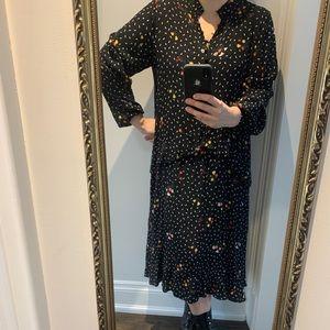 Floral Maxi Dress (John Lewis) - L/XL